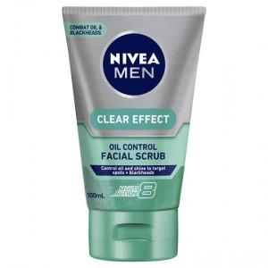 Nivea For Men Facial Scrub Clear Effect Oil Control