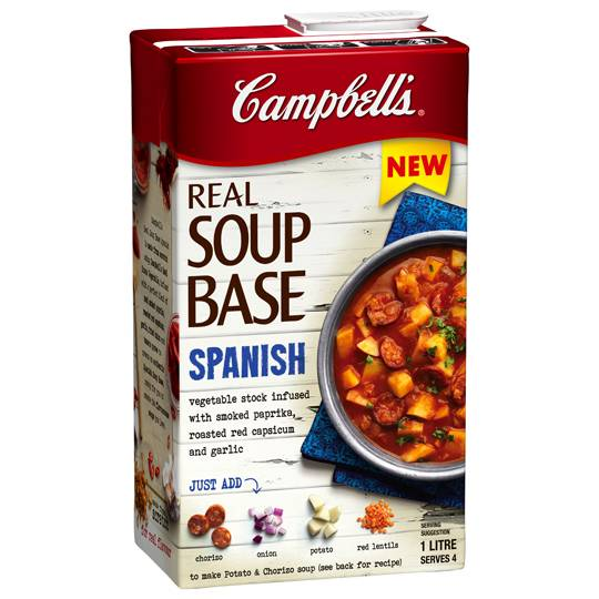 Campbell's Real Soup Base Spanish Ratings - Mouths of Mums
