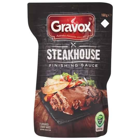 Gravox Finishing Sauce Steakhouse