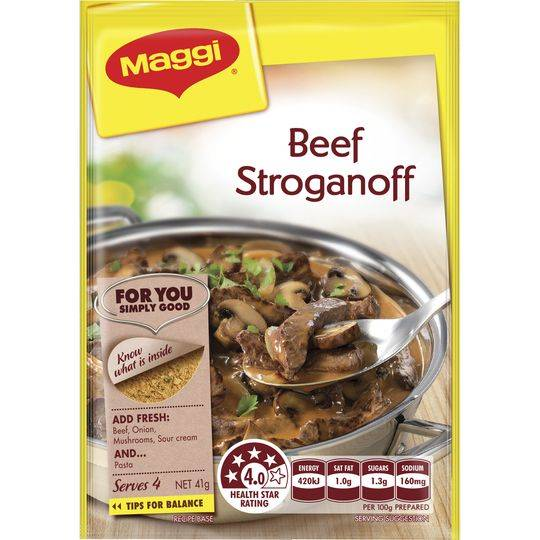 Maggi Stroganoff Recipe Base