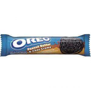 Oreo Cookie Peanut Butter & Choc Creme