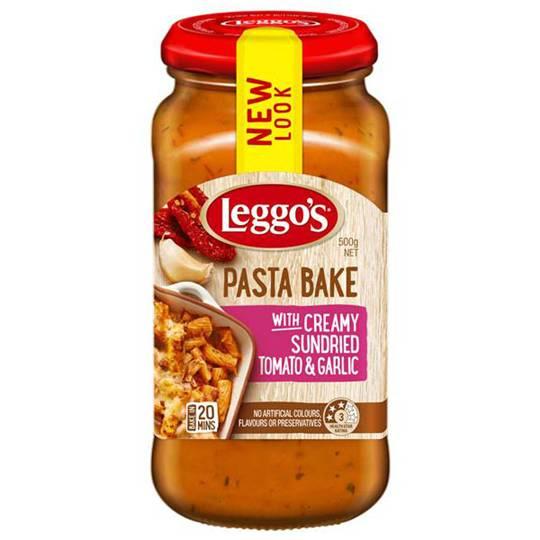 Meex_spali reviewed Leggos Pasta Bake Sundried Tomato Garlic
