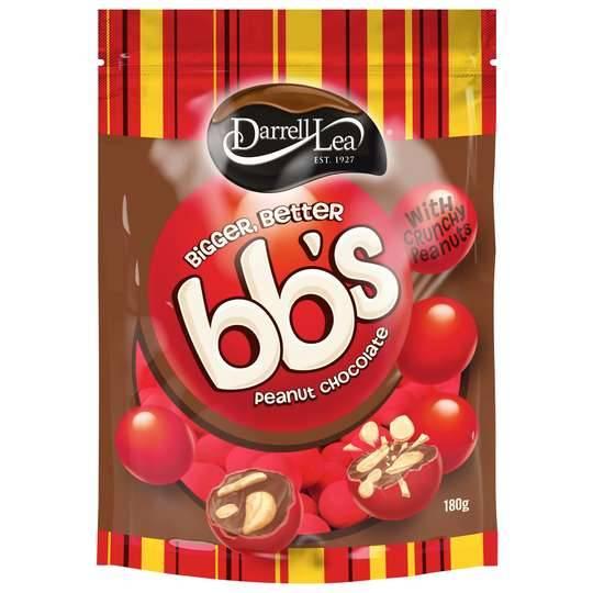 Darrell Lea Bb's Chocolate Balls Peanut