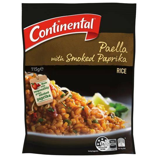 Continental Rice Paella With Smoked Paprika