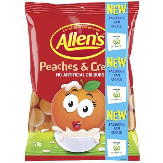 Allen's Peaches & Cream