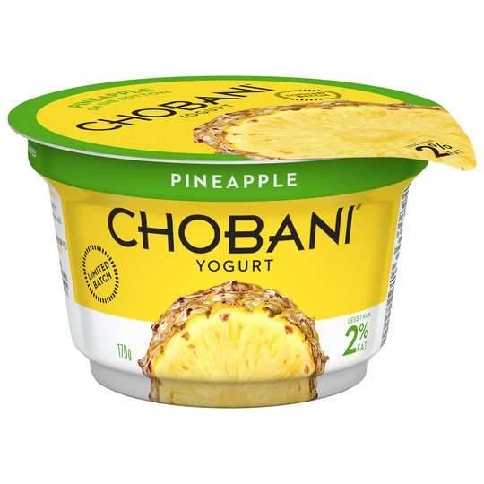 Chobani Yoghurt Pineapple