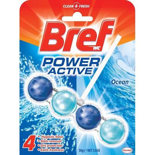 Bref Power Active Toilet Cleaner Ocean 4 In