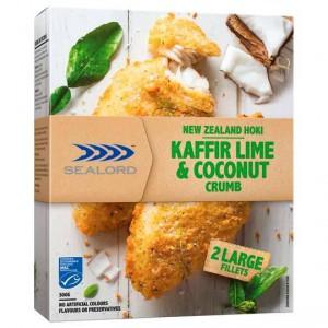 Sealord Hoki Fillets Premium Lime & Coconut