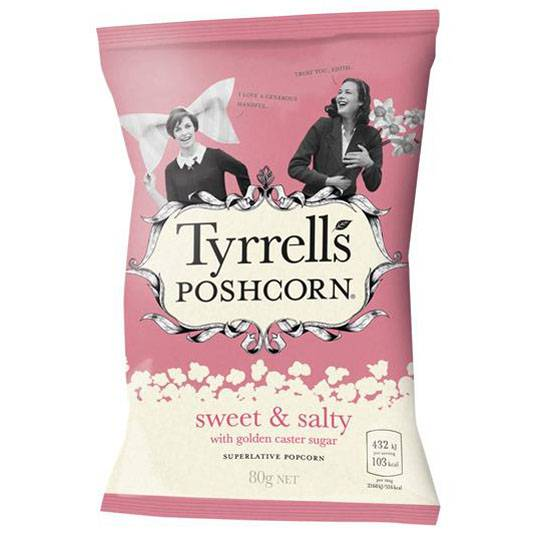 A review for Tyrell's Poshcorn Sweet N' Salty