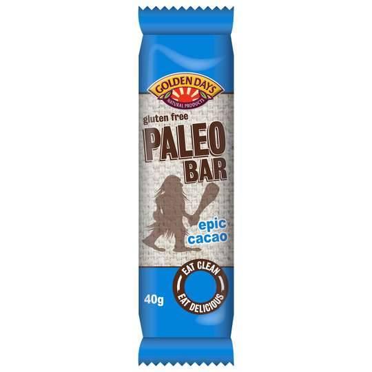 Golden Days Paleo Bar Epic Cacao