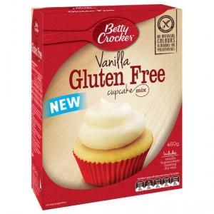 Betty Crocker Vanilla Cupcake Mix Gluten Free