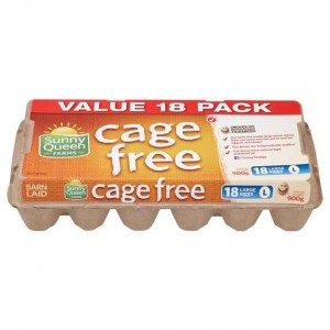 Sunny Queen Large Cage Free Eggs