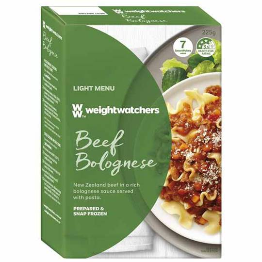 Weight Watchers Beef & Tomato Bolognese