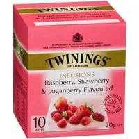 Twinings Raspberry Strawberry & Loganberry Tea Bags