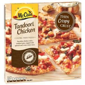 Mccain Ultra Thin Crust Pizza Tandoori