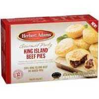 Herbert Adams Pies Gourmet King Beef