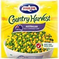 Birds Eye Country Harvest Mixed Vegetables Peas & Corn
