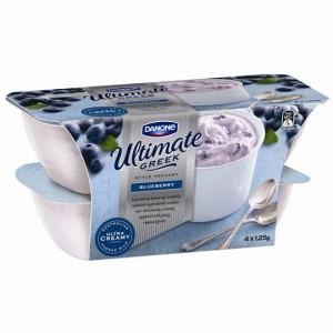 Danone Greek Yoghurt Blueberry
