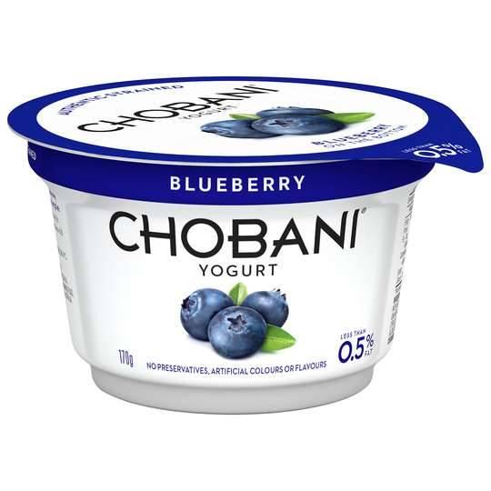 Chobani No Fat Blueberry Yoghurt
