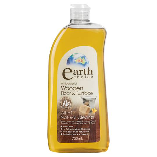 Earth Choice Floor Cleaner Wooden Surface
