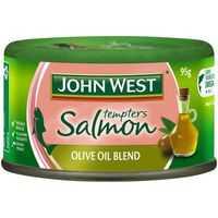 John West Salmon Tempter Olive Oil