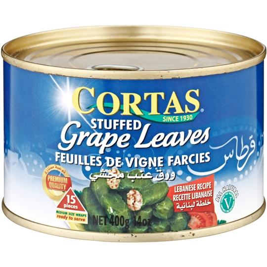 Cortas Stuffed Grapeleaves Snack