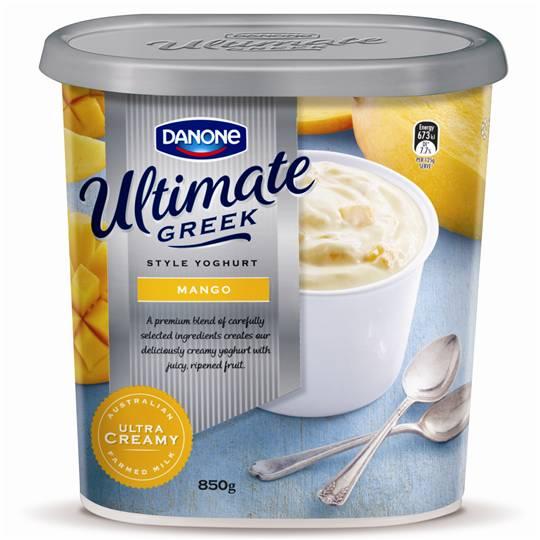Danone Greek Yoghurt Mango