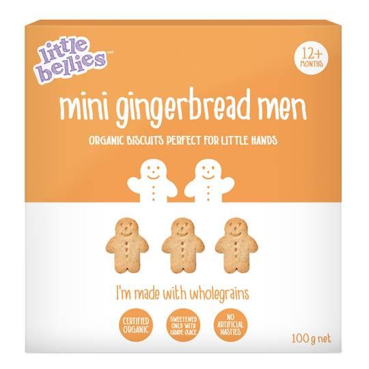 Lisa reviewed Little Bellies Mini Gingerbread Men