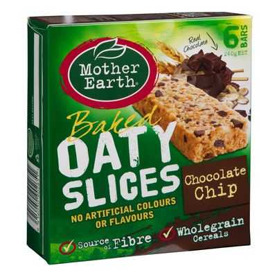jenniw reviewed Mother Earth Chocolate Chip Oaty Slice