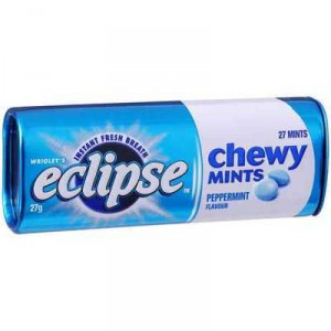 Wrigley's Eclipse Chewy Mints Peppermint