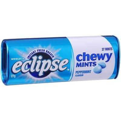 Dennis12 reviewed Wrigley's Eclipse Chewy Mints Peppermint