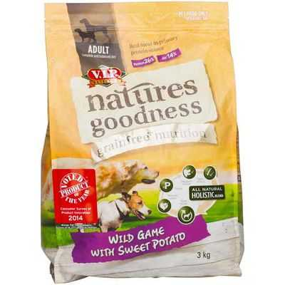 Amethyst06 reviewed Vip Natures Goodness Grainfree Adult Dog Food Wild Game With Sweet Potato