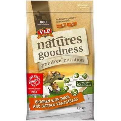 Vip Natures Goodness Grainfree Adult Dog Food Chicken With