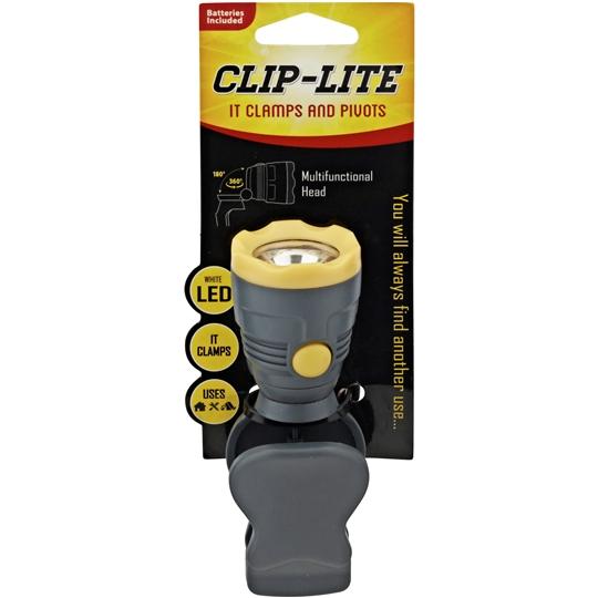 Clamplight Flashlight Mini Led Clamp