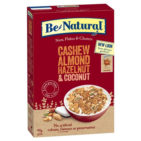 Be Natural Cashew Almond Hazelnut & Coconut Cereal