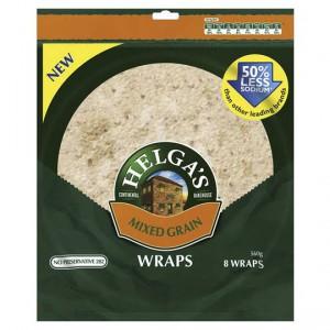 Helga's Wraps Mixed Grain