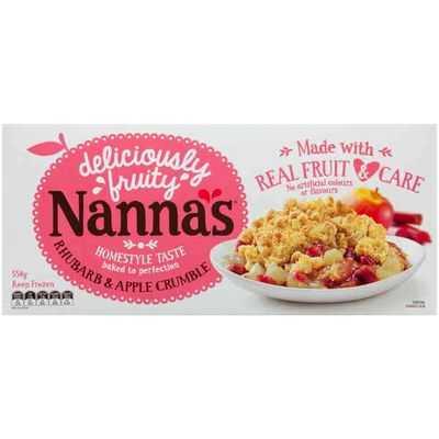 Nanna's Crumble Rhubarb & Apple