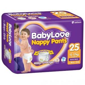 Babylove Nappy Pants Walker 12-17kg