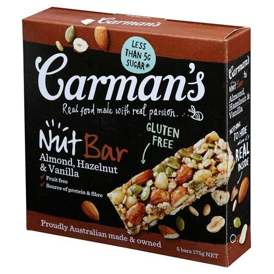 Carman's Almond, Hazelnut Vanilla Nut Bars