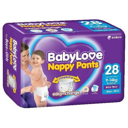 Babylove Nappy Pants Toddler 9-14kg