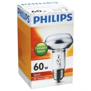 Philips Reflector R63 Globe 60w Es Base