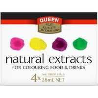 Queen Natural Food Colouring Rainbow