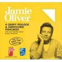 Findus Jamie Oliver Fish Cakes Pollock