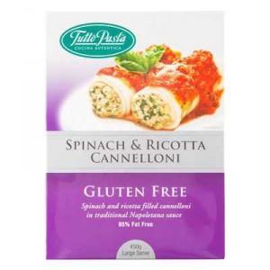 Tutto Pasta Spinach & Ricotta Gluten Free Cannelloni