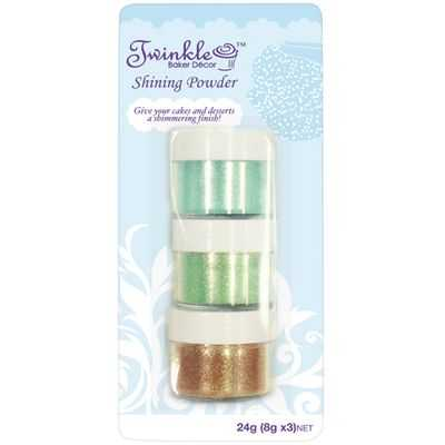 Jessica reviewed Twinkle Sprinkle Cupcake Mix Shimmer Powder Light