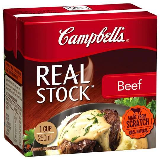 Campbells Real Beef Stock