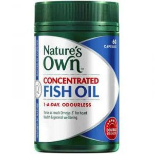 Nature 39 s own concentrated fish oil 1000mg capsules ratings for Fish oil ratings