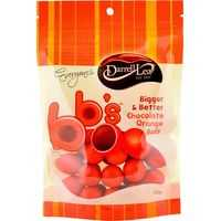 Darrell Lea Bb's Chocolate Balls Orange