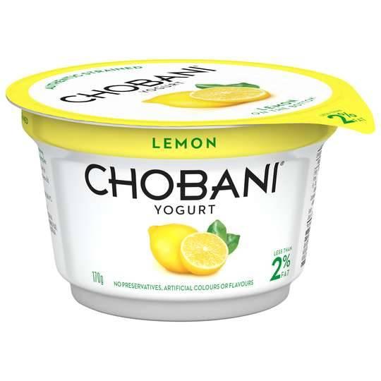 Chobani Low Fat Lemon Yoghurt