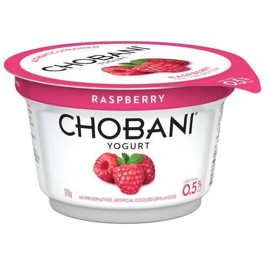 Chobani No Fat Raspberry Yoghurt